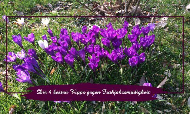 Die 4 besten Tipps gegen Frühjahrsmüdigkeit