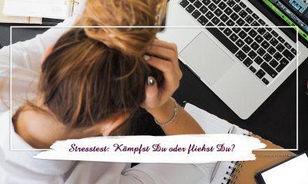 Stresstest: Kämpfst Du oder fliehst Du?