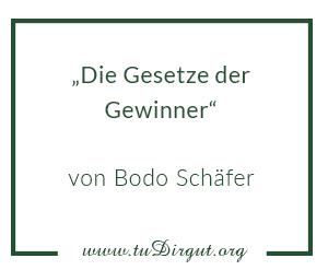Gesetze der Gewinner von Bodo Schäfer