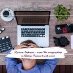 Leisure Sickness – wenn Du ausgerechnet in Deiner freien Zeit krank wirst
