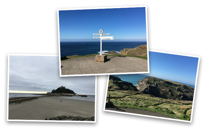 Lands end, Mount Michael, Arthur