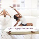 Yoga — Tipps für einen gutenStart