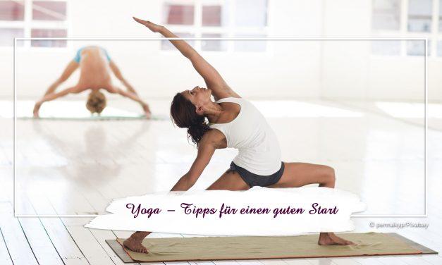 Yoga — Tipps für einen guten Start